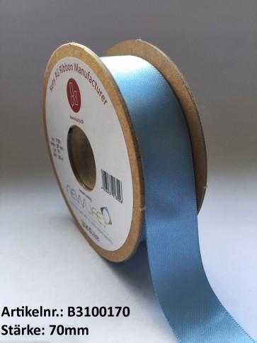 Satinband NEWLIFE, 100% recycled PES, 70mm