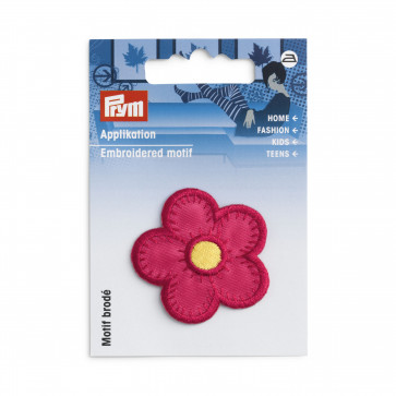 Prym Applikation Blume pink