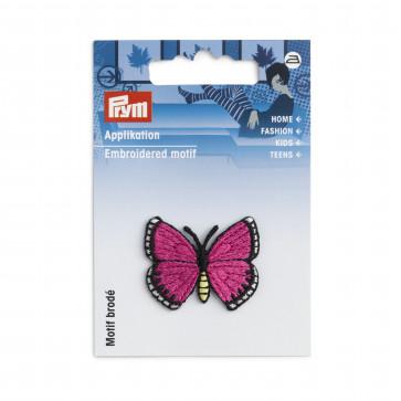 Prym Applikation Schmetterling pink