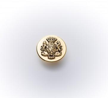 15mm Metall-Guß-knopf altgold