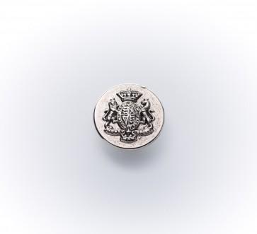 15mm Metall-Guß-knopf altsilber