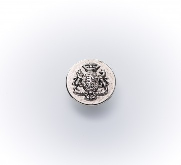 20mm Metall-Guß-knopf altsilber
