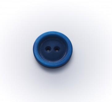 25mm Knopf Stein ,2-loch Polyester, gefärbt