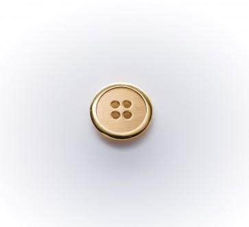 14mm Metallknopf rf, hego, altgold