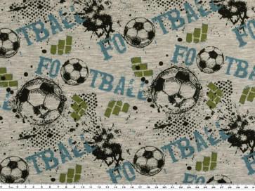BW Jersey Melange Fußball 155cm