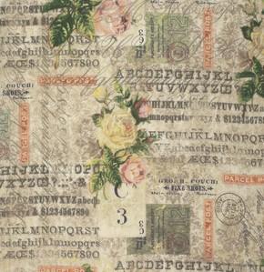 Coats-Tim Holtz Wallflower-Rose Parcel