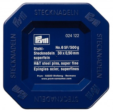 Stahlstecknd.Prym 0,5x30mm/6