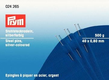 Stahlsteckndl.Prym 0,8x40mm 500g