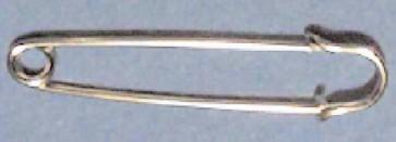 76mm Kiltnadel Standard silber