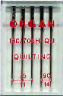 ORGAN Maschinnadel  f.Quilt.... a 5Stk.