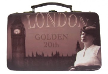 "Retro-Box ""London"" 30x12x18cm"