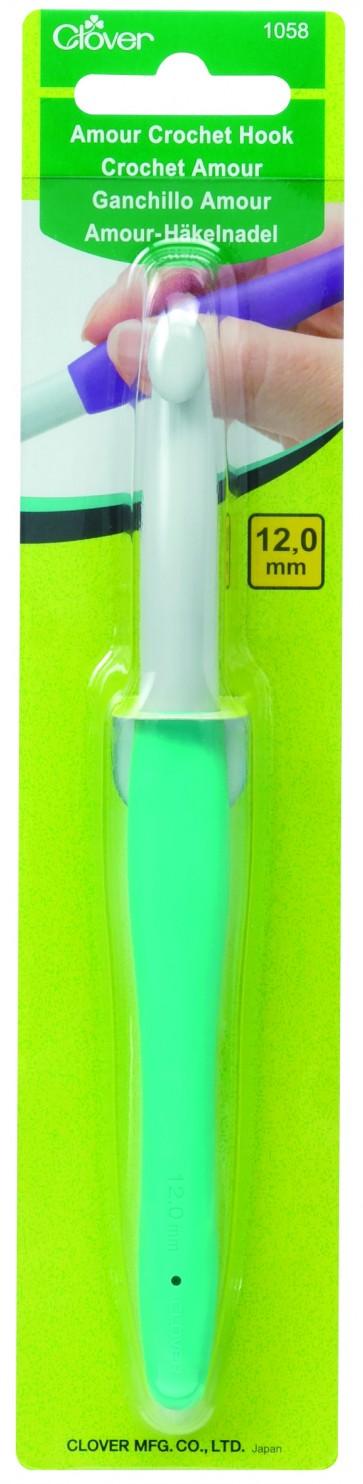 CLOVER Häkelnadel Amour 12,0mm