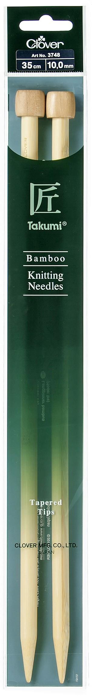 CLOVER Jackenstrickndl. Bambus Takumi 35cm/10.00mm
