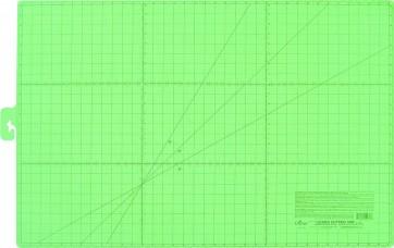 CLOVER Schneidematte Zoll-Anzeige 24x36