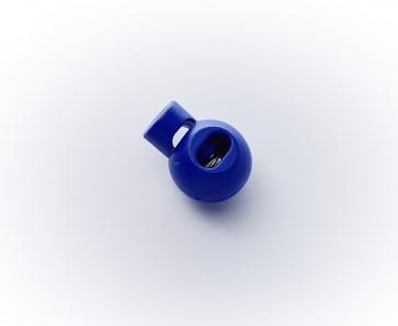 16mm Kordelstopper m.Feder, gefärbt