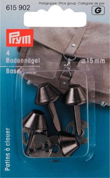 P/SB Bodennägel für Taschen Ø 15 mm altilber #
