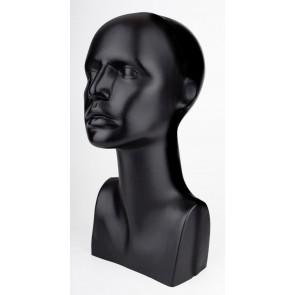 Deco Kopf schwarz