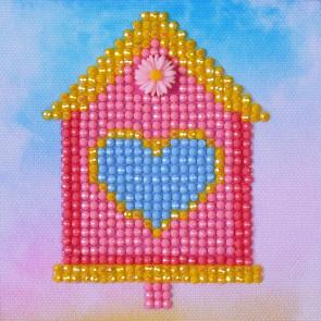 DIAMOND DOTZ Home Sweet Home 10.2 x 10.2 cm  (3 St)