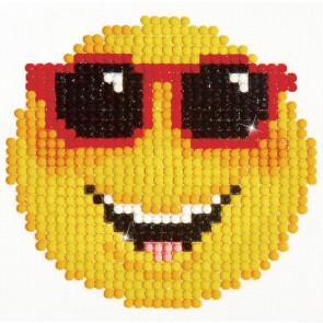 DIAMOND DOTZ Smiling Face 10.2 x 10.2 cm  (3 St)