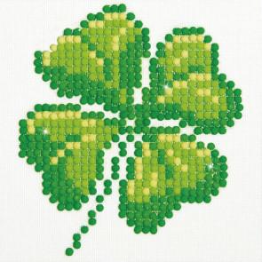 DIAMOND DOTZ Four Leaf Clover 10.2 x 10.2 cm  (3 St)