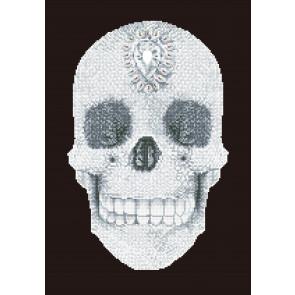DIAMOND DOTZ Crystal Skull 42x60 cm