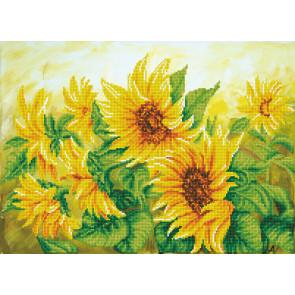 DIAMOND DOTZ Hazy Daze Sunflowers 57x41 cm