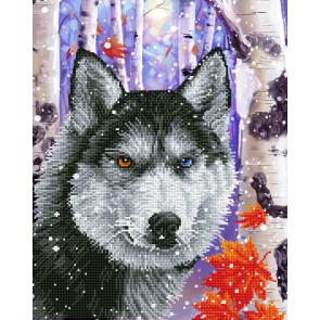 DIAMOND DOTZ Forest Wolf 40x50 cm