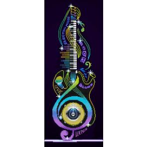 DIAMOND DOTZ Guitar Icon 31x77 cm