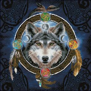 DIAMOND DOTZ Celtic Wolf Guide 51,5x51,5 cm