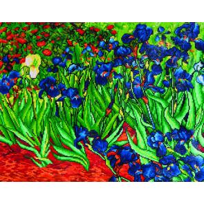 DIAMOND DOTZ Irises (Van Gogh) 71,12x55,9 cm