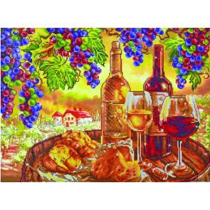 DIAMOND DOTZ Les Vins de Campange 70x52 cm