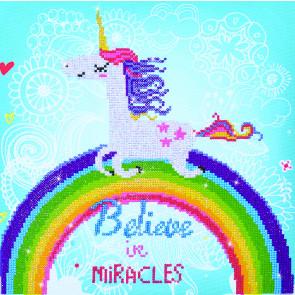 DIAMOND DOTZ Believe in Miracles 35x35 cm