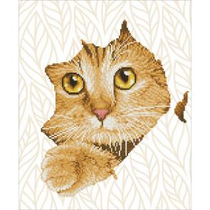 DIAMOND DOTZ Kitten Peek 45x37 cm