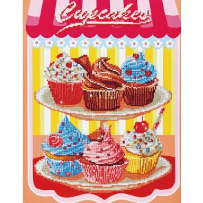 DIAMOND DOTZ Cupcakes 40,6x50,8 cm