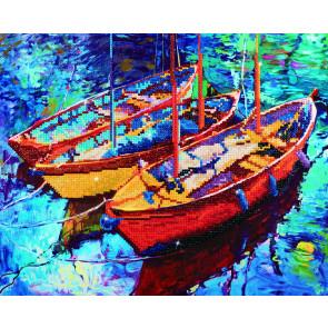DIAMOND DOTZ Dream Boats 47x38 cm
