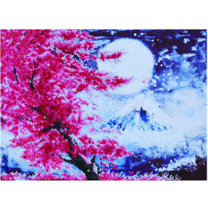 DIAMOND DOTZ Cherry Blossom Mountain 52x38 cm