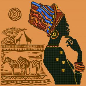 DIAMOND DOTZ African Elegance 49x49 cm