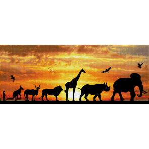 DIAMOND DOTZ African Sky 22,5x72 cm