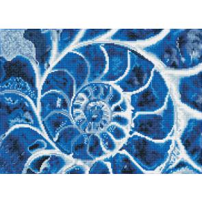 DIAMOND DOTZ Blue Nautilus 51,5x37 cm