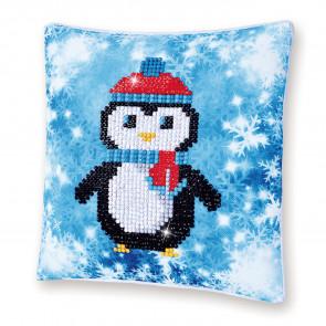 DIAMOND DOTZ Kissen Christmas Penguin Pillow 18x18cm (2 St)