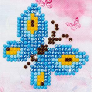 DIAMOND DOTZ Butterfly Sparkle 7.6 x 7.6 cm  (3 St)