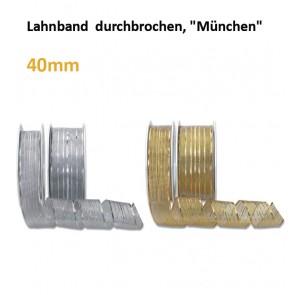 """Lahnband  durchbrochen, m.Dr.""""München"""""""
