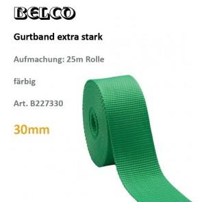 Gurtband extra stark, 100% Polyprop., fbg