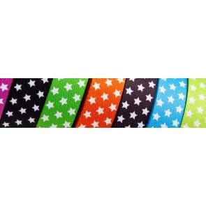 Gurtband, bedr. Sterne 100% Polyprop., fbg