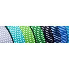 Gurtband, bedr. Punkte 100% Polyprop., fbg