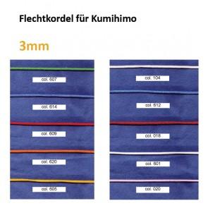 Flechtkordel f. Kumihimo