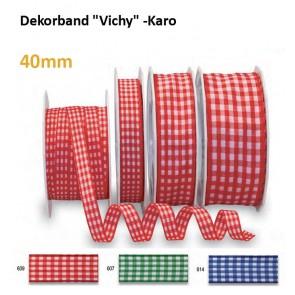 "Dekorband ""Vichy"" -Karo"