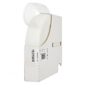 Rüschenelastikgummi  BELCO 30mm, weiß