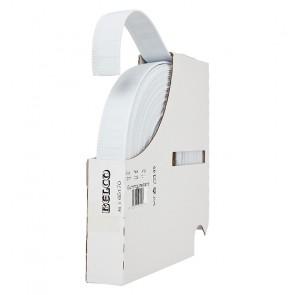 Gummigürtelband BELCO, weiß  20mm