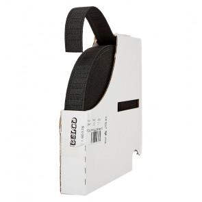 Gummigürtelband BELCO, schwarz 20mm